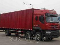 Chenglong LZ5200XXYM5CA box van truck