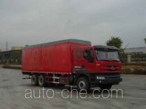 Chenglong LZ5230XXYPQDL soft top box van truck