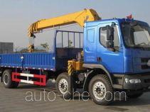 Chenglong LZ5250JSQM3CA truck mounted loader crane