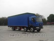 Chenglong LZ5250XXYPRCS soft top box van truck