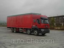 Chenglong LZ5270XXYPQEH soft top box van truck