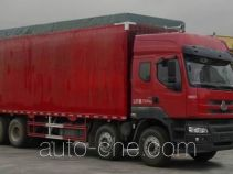 Chenglong LZ5280XXYPQEK soft top box van truck