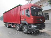 Chenglong LZ5310CPYM5FA soft top box van truck