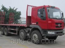 Chenglong LZ5312TPB flatbed truck