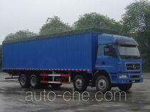 Chenglong LZ5312XXYPPEL soft top box van truck