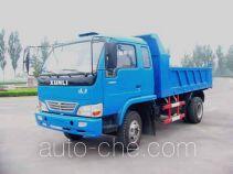 迅力牌LZ5815PD型自卸低速货车