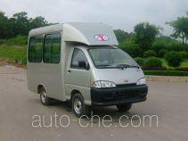 Sightseeing minibus