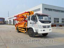 迅力牌LZQ5160THB型混凝土泵车