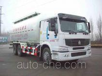 迅力牌LZQ5257GFLB型粉粒物料运输车