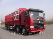 迅力牌LZQ5313CLY型仓栅式运输车