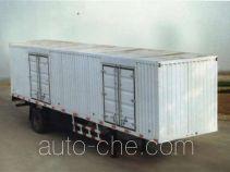 迅力牌LZQ9140XXY型厢式运输半挂车
