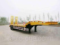 山东迅力特种汽车有限公司制造的低平板专用半挂车