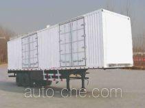 迅力牌LZQ9270XXY型厢式运输半挂车