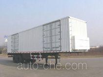 Xunli LZQ9340XXY box body van trailer