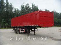 迅力牌LZQ9341XXY型厢式运输半挂车