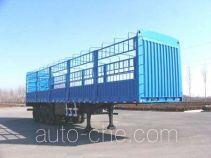 迅力牌LZQ9390CLXY型仓栅式运输半挂车