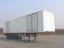 Xunli LZQ9390XXY box body van trailer