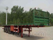 迅力牌LZQ9400TPB型平板运输半挂车