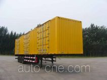 迅力牌LZQ9402XXY型厢式运输半挂车