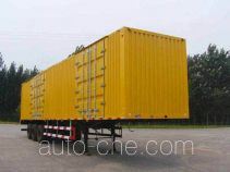 Xunli box body van trailer