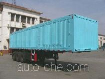 迅力牌LZQ9407XXY型厢式运输半挂车