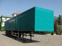 迅力牌LZQ9408XXY型厢式运输半挂车