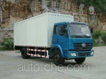 柳特神力牌LZT5162XPYPK2E3L1A95型平头蓬式运输车