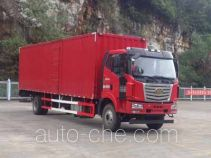 FAW Liute Shenli LZT5180XXYPK2E5L10A95 box van truck