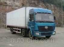 FAW Liute Shenli LZT5212XXYPK2E3L9T3A95 cabover box van truck