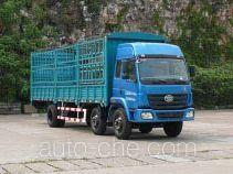 柳特神力牌LZT5251CXYPK2E3L8T3A95型平头仓栅式运输车