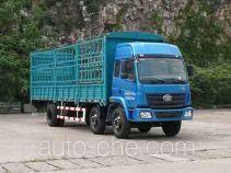 柳特神力牌LZT5251CXYPK2E3L9T3A95型平头仓栅式运输车