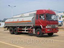 Chemical liquid tank cabover truck