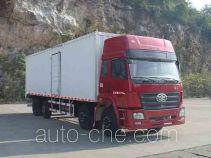 FAW Liute Shenli LZT5311XXYPK2E3L11T2A90 cabover box van truck