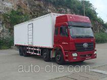 FAW Liute Shenli LZT5312XXYP2K2E3L11T4A92 cabover box van truck