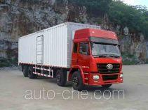FAW Liute Shenli LZT5312XXYPK2E3L11T2A90 cabover box van truck