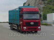 柳特神力牌LZT5313CXYP2K2E3L11T4A92型平头仓栅式运输车