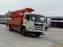华悦达牌LZX5230THBL型混凝土泵车