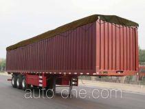 Jiyun MCW9400CPY soft top box van trailer