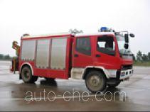 Zhenxiang MG5110TXFJY75X fire rescue vehicle