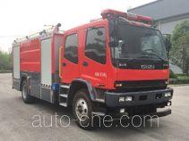 Zhenxiang MG5150GXFSG60/CQ fire tank truck