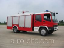 Zhenxiang MG5150TXFFE29 dry carbon dioxide combined fire engine