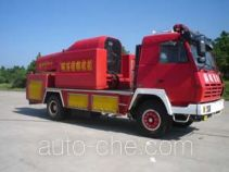 Turbojet fire engine