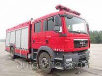 Guangtong (Haomiao) MX5160GXFAP45/M пожарный автомобиль тушения пеной класса А