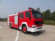 Guangtong (Haomiao) MX5190GXFPM80/H foam fire engine