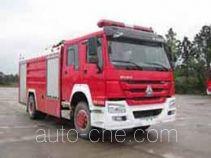 Guangtong (Haomiao) MX5190GXFPM80/HS пожарный автомобиль пенного тушения