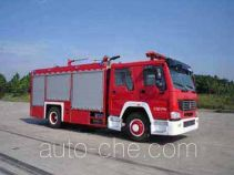 Guangtong (Haomiao) MX5190TXFGP60H dry powder and foam combined fire engine
