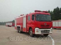 Guangtong (Haomiao) MX5270TXFGP90UD dry powder and foam combined fire engine