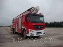 Guangtong (Haomiao) MX5320JXFJP25/ND high lift pump fire engine