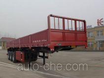梁虹牌MXH9401ZZX型自卸半挂车