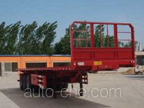 河海明珠牌MZC9401ZZXP型平板自卸半挂车